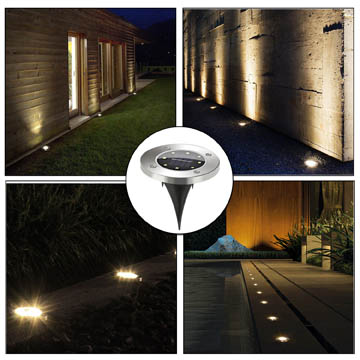 meilleures lampes solaires pour trottoirs