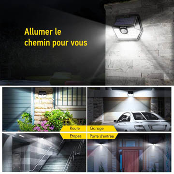 meilleures lampes solaires à détecteur de mouvements