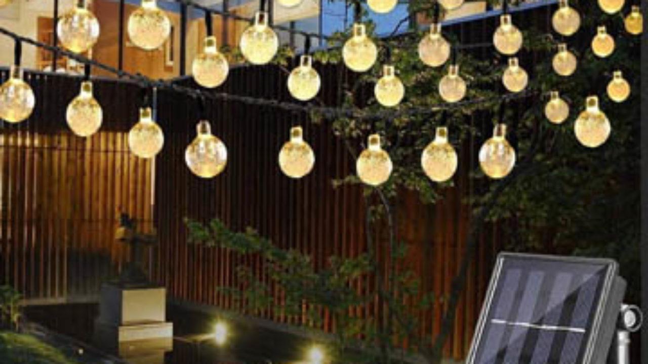 Comment Fixer Guirlande Exterieur ᐅ les 5 meilleures guirlandes lumineuses solaires