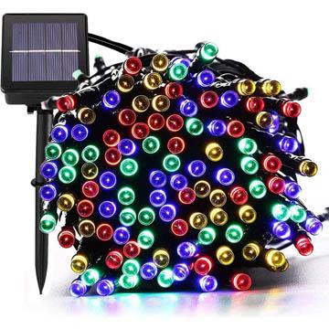 meilleures lumières de Noël solaires